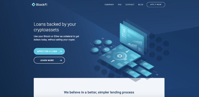 BlockFI: plataforma de préstamos